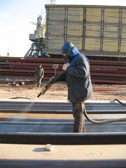 Огнезащитная обработка металлов